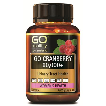 GO Cranberry 60000+ 60vcaps