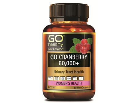 GO CRANBERRY 60,000+ - URINARY TRACT HEALTH (60 VCAPS)
