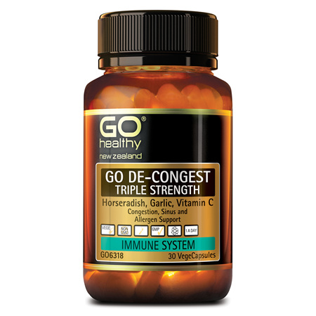 GO DE-CONGEST TRIPLE STRENGTH - CONGESTION SUPPORT (30 VCAPS)