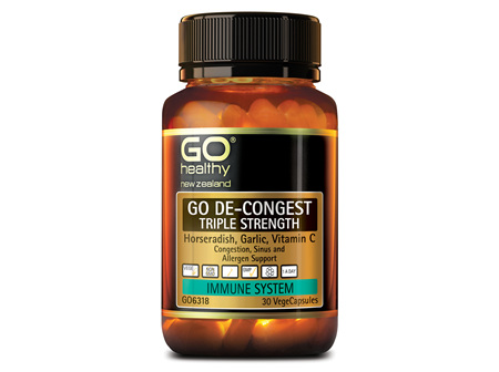 GO DE-CONGEST TRIPLE STRENGTH - CONGESTION SUPPORT (30 VCAPS)