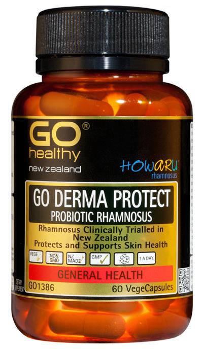 GO DERMA PROTECT HOWARU Rhamnosus (60 Vcaps)