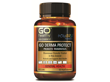 GO DERMA PROTECT PROBIOTIC RHAMNOSUS (60 VCAPS)