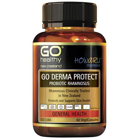 GO Derma Protect Probiotic Rhamnosus 60 VCaps