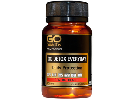 GO DETOX EVERYDAY - Daily Protection (30 Vcaps)