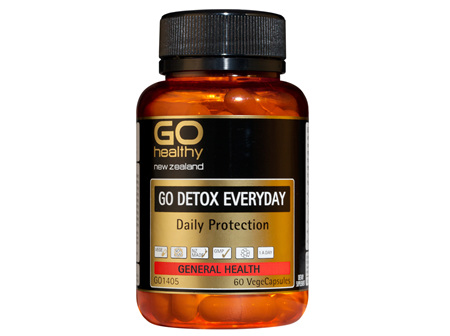 GO DETOX EVERYDAY - Daily Protection (60 Vcaps)