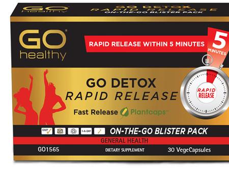 GO Detox Rapid Release 30 RR VCaps