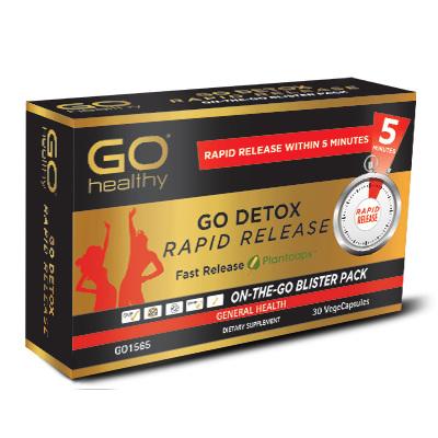 GO Detox Rapid Release 30vcaps