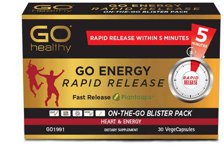 GO Energy Rapid Release 30 RR VCaps
