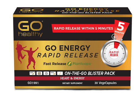 GO Energy Rapid Release 30 RR VCaps