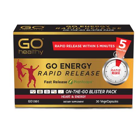 GO Energy Rapid Release 30vcaps