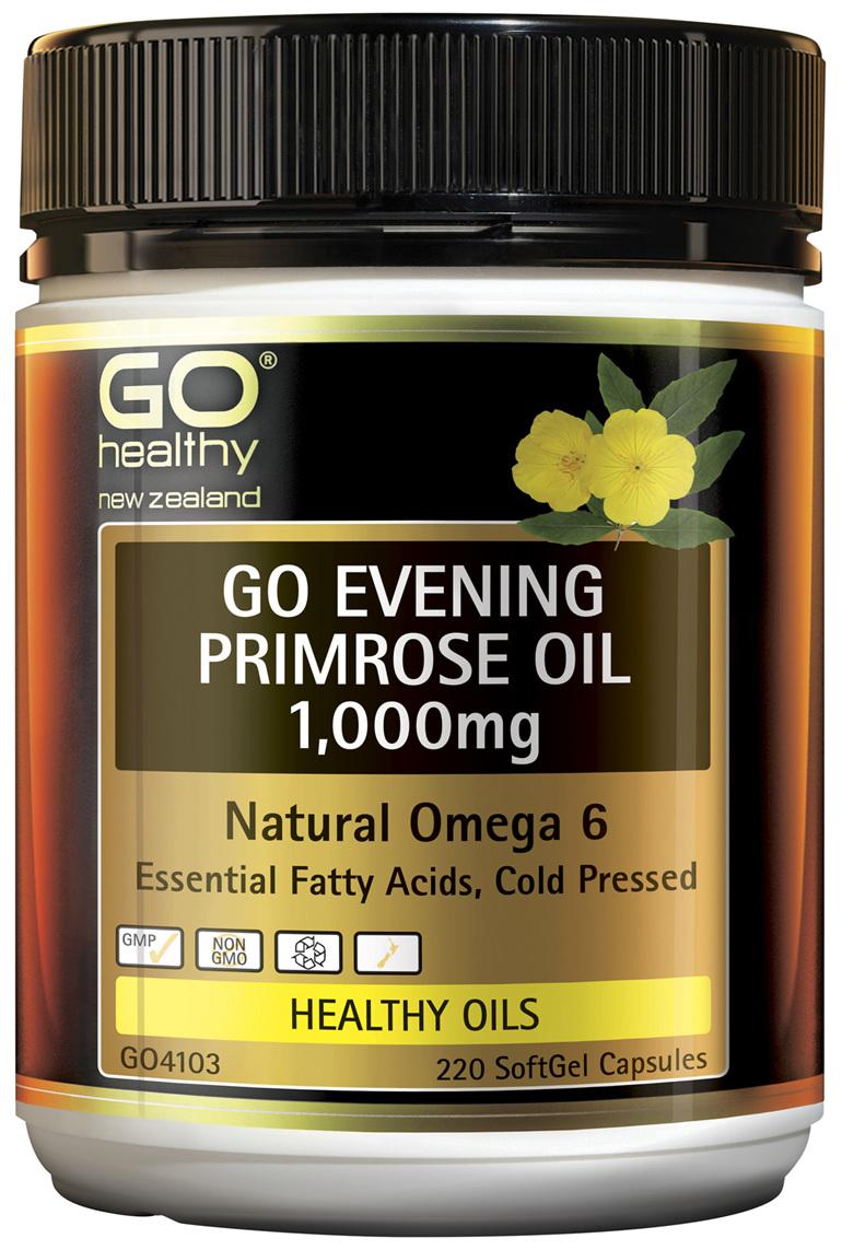 GO Evening Primrose Oil 1,000mg 220 Caps
