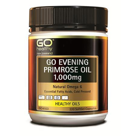 GO Evening Primrose Oil 1000mg 220caps