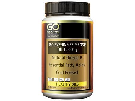 GO Evening Primrose Oil 1,000mg 440 Caps