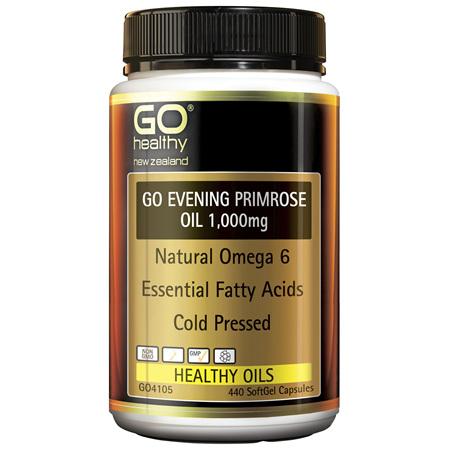 GO Evening Primrose Oil 1000mg 440caps
