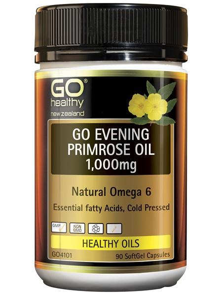 GO Evening Primrose Oil 1,000mg 90 Caps