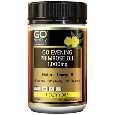 GO Evening Primrose Oil 1000mg 90caps