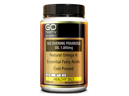 GO EVENING PRIMROSE OIL 1,000MG - NATURAL OMEGA 6 (440 CAPS)