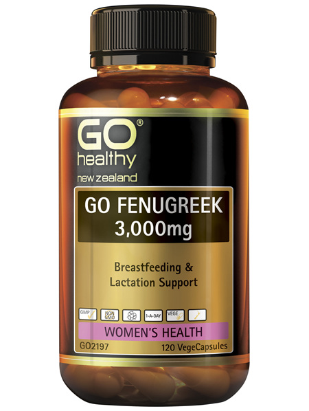 GO Fenugreek 3,000mg 120 VCaps