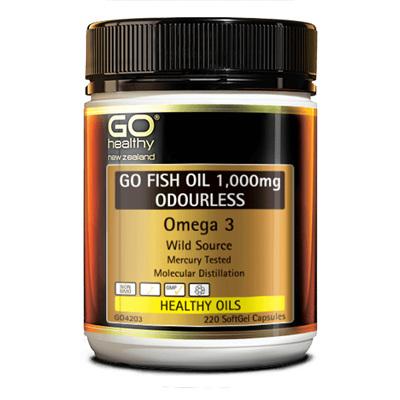 GO Fish Oil 1000mg 220caps