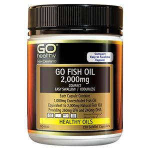 GO Fish Oil 2000mg Comp. 200cap