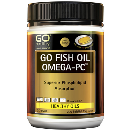 GO Fish Oil Omega-PC™ 200 Caps