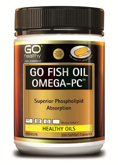 GO Fish Oil Omega-PC (200 caps)