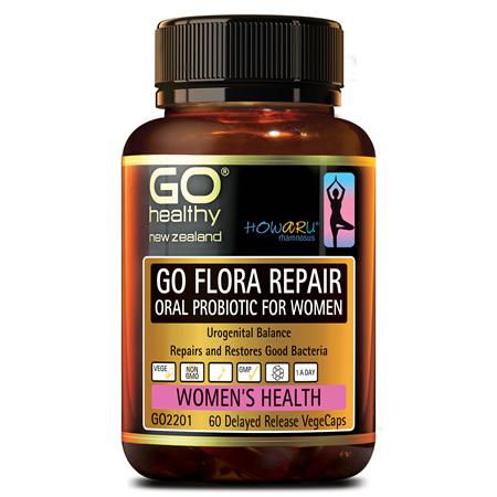 GO Flora Repair 60vcaps