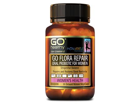 GO FLORA REPAIR - ORAL PROBIOTIC FOR WOMEN (30 VCAPS)