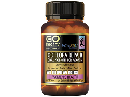 GO FLORA REPAIR  Oral Probiotic for Women 30 VCaps
