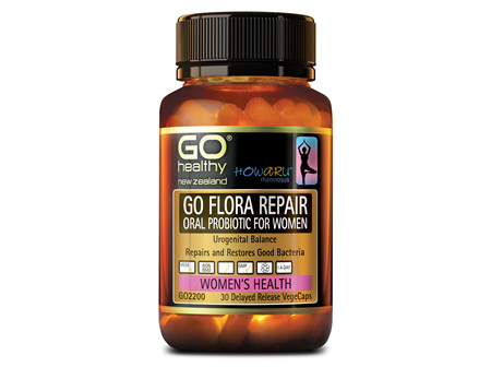 GO FLORA REPAIR - ORAL PROBIOTIC FOR WOMEN (30 VCAPS)