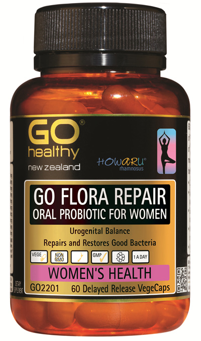 GO FLORA REPAIR - Oral Probiotic for Women (60 VCaps)