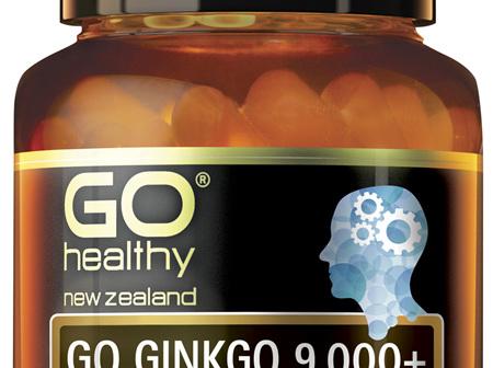 GO Ginkgo 9,000+ 30 VCaps