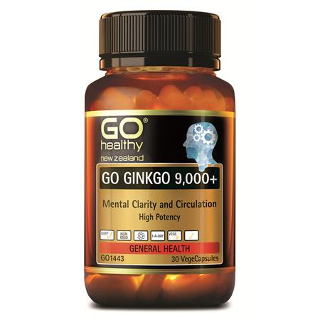 GO Ginkgo 9000+ 30vcaps