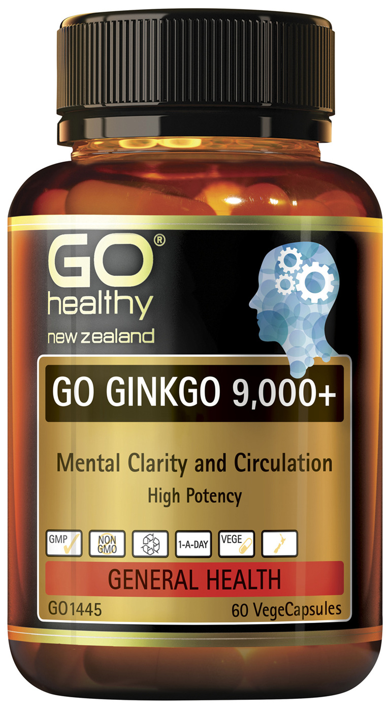 GO Ginkgo 9,000+ 60 VCaps