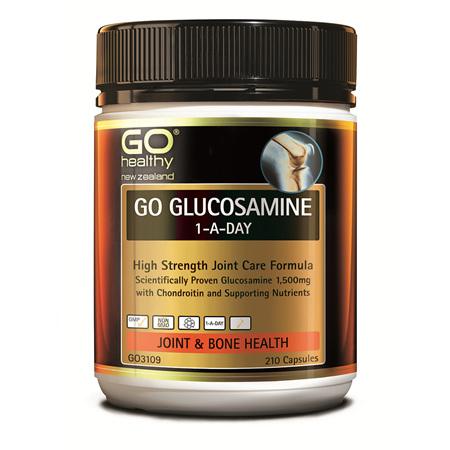 GO Glucosamine 1-A-Day 1500mg 210caps