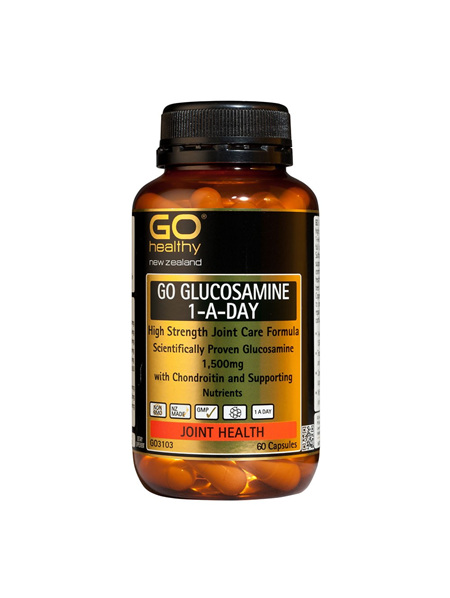 GO Glucosamine 1-A-Day 1500mg 60