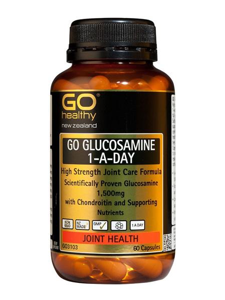 GO Glucosamine 1-A-Day 1500mg 60