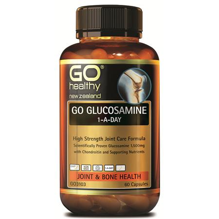 GO Glucosamine 1-A-Day 1500mg 60caps