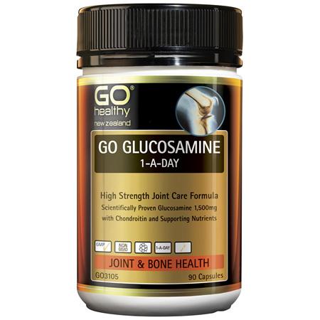 GO Glucosamine 1-A-Day 1500mg 90caps