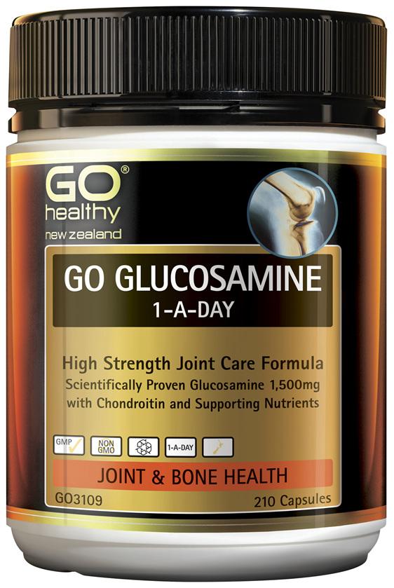 GO Glucosamine 1-A-Day 210 Caps
