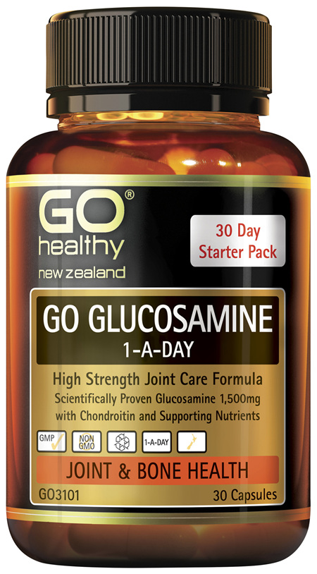 GO Glucosamine 1-A-Day 30 Caps