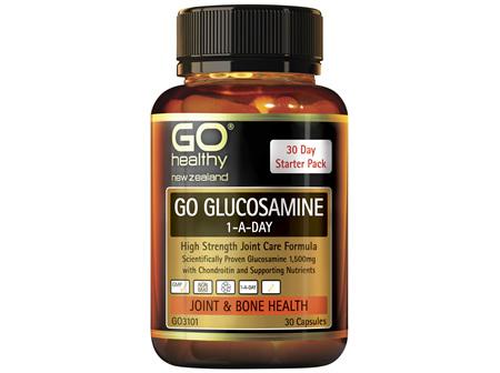 GO Glucosamine 1-A-Day 30 Caps