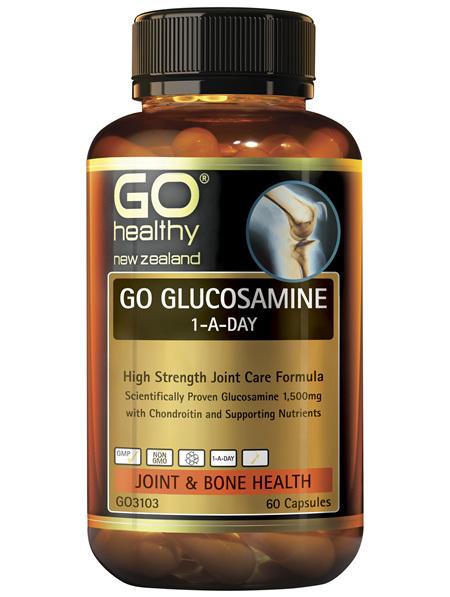GO Glucosamine 1-A-Day 60 Caps