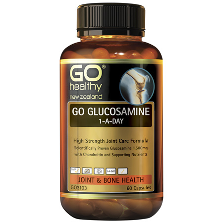 GO Glucosamine 1-A-Day 60 Caps