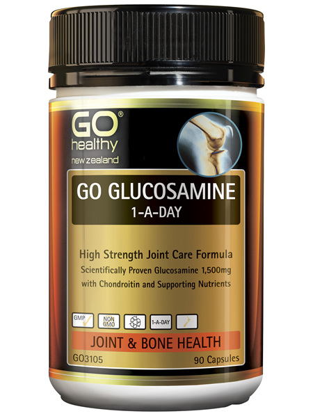 GO Glucosamine 1-A-Day 90 Caps