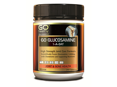 GO GLUCOSAMINE 1-A-DAY - HIGH STRENGTH JOINT CARE FORMULA (210 CAPS)