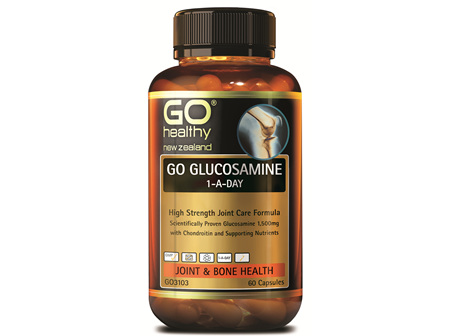 GO GLUCOSAMINE 1-A-DAY - HIGH STRENGTH JOINT CARE FORMULA (60 CAPS)