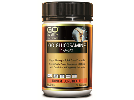 GO GLUCOSAMINE 1-A-DAY - HIGH STRENGTH JOINT CARE FORMULA (90 CAPS)