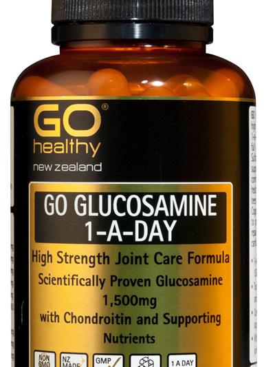 GO GLUCOSAMINE 1-A-DAY - High Strength Joint Care Formula (60 Caps)