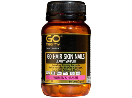 GO Hair Skin and Nails Beauty 50 caps